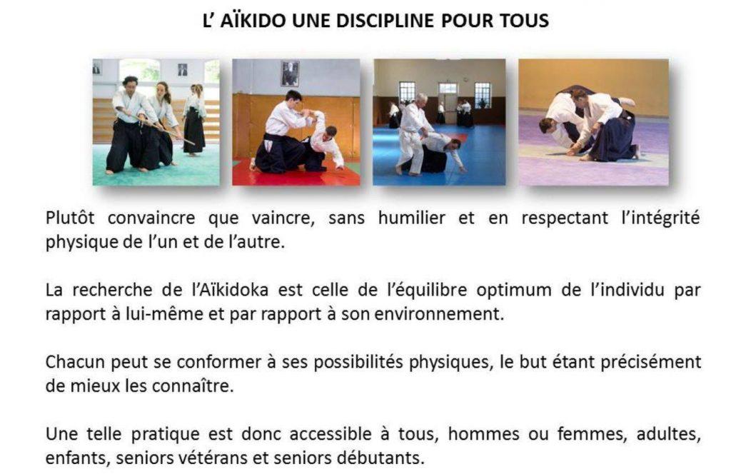 Aïkido discipline pour tous